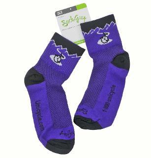UDC Logo Socks Sm/Med - Purple